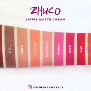 Zhuco Cosmetics Lippie Matte Cream 01 Autumn