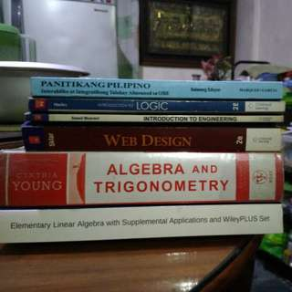 Math, Computer and Engineering Books