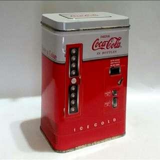 美國可口可樂老鐵盒