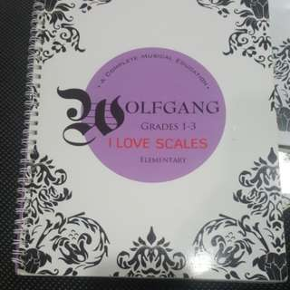 Wolfgang violin program grades 1-3 scales