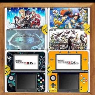 Nintendo New 3DS XL Skin Decals