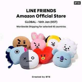 [PO] BTS LINE FRIENDS BT21 GOODS