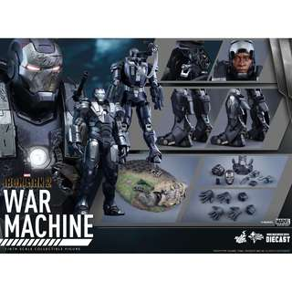 WTB Hot Toys 1/6th War Machine Mark 1 Diecast