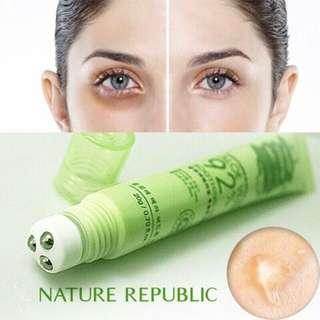 [NATUREREPUBLIC] Aloe Vera soothing gel Eye Massage Roller