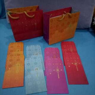 2018 HDB Red Packet and carry bag