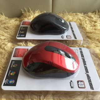 $7 promo (BN) Rapoo 2.4 GHZ Wireless optical Mouse 4D