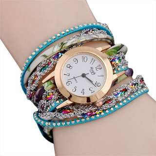 Sparkling Bangle Watch (on hand)