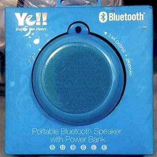 Ye!! Bluetooth Bubble Speaker