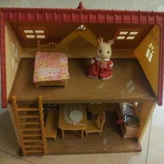 Sylvanian Families - cozy cottage starter home