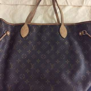LV Neverfull M Size Bag