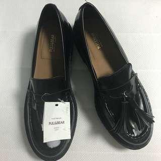 Moccasin Shoes - Black