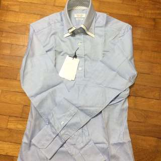 Zara Man Double Collar L/S Shirt