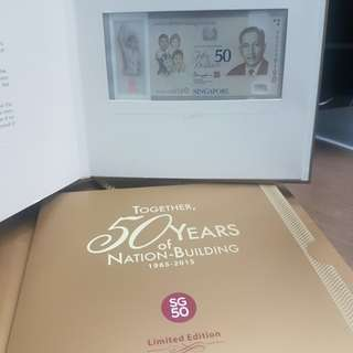 SG50 Commemorative $50 Limited Edition