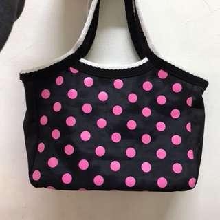小提袋/便當袋/外出用小包包/環保袋/手提袋(有拉鍊)