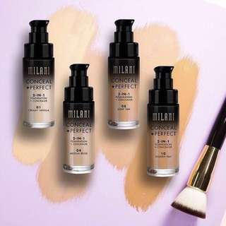 Authentic milani conceal + perfect