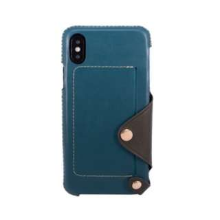 OBX leather case for iphoneX 可放卡 真皮 電話殻 手機套