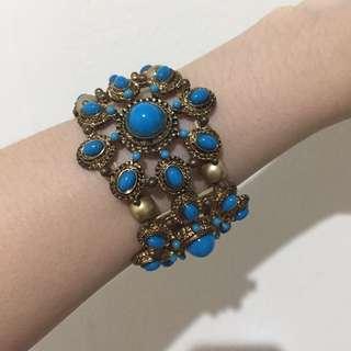 Blue indian bracelet