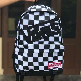 Vans checkerboard bagpack