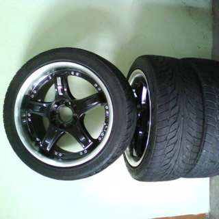Sport rim Advanti racing 16 8 hole 114 and 100