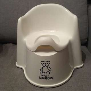 Authentic Baby Björn potty