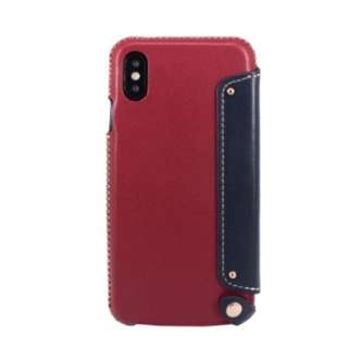 OBX leather case for iphoneX 真皮 電話殻 手樣套