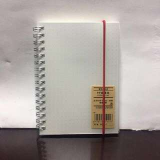 Muji style A6 Dotted Notebook