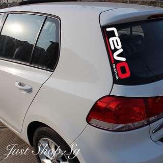 REVO Car Decal / Sticker