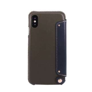 OBX leather case for iphoneX 真皮 電話殻 手機套