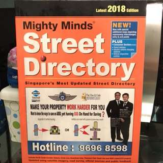 Mighty Minds Street Directory (Latest 2018 Edition)