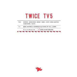 (DVD) 트와이스 (Twice) - Twice TV5 : Twice In Switzerland (3 Disc)