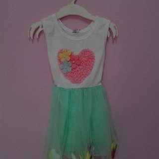 Tutu dress (new) for 1y-2y baby