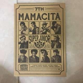 Super junior MAMACITA repackaged