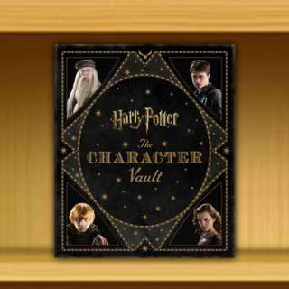 BNIP - Harry Potter : The Character Vault  (Hardcover/Hardback) By Jody Revenson