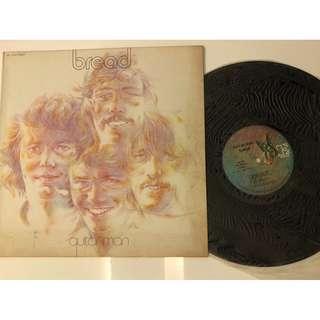 vintage LP vinyl record. collectible. bread
