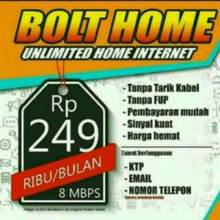 INTERNET UNLIMITED 4GLTE BOLT HOME