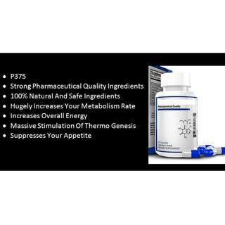 P375 _ gOOD Strength For Weight Loss 30 Capsules/BOTTLE