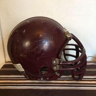 Ridell youth football helmet