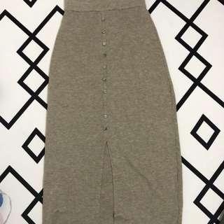 韓國針織半身裙