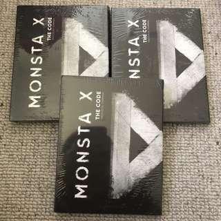 Monsta X Sealed The Code Album De: Code and Protocal Terminal Version