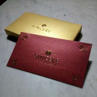 Ang Pao / Hong Bao / Red Packets by Sincere Fine Watches