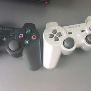 Playstation 3 with wireless controller