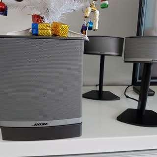 Bose speakers ( model Companion 5 )