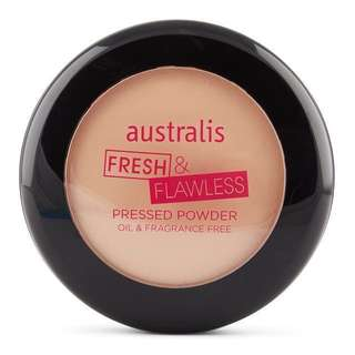 Australis Fresh & Flawless Pressed Powder - Natural