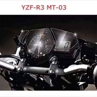 Yamaha YZF-R3/MT03 Speedometer Screen Protector