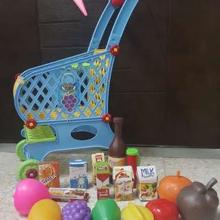 Kid's Shopping Cart