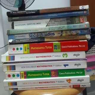 Secondary books ($6)