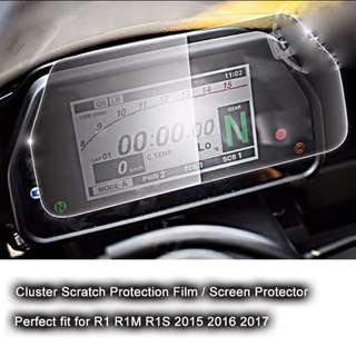 Yamaha R1/R1M 15-17 Meter Cluster Protector