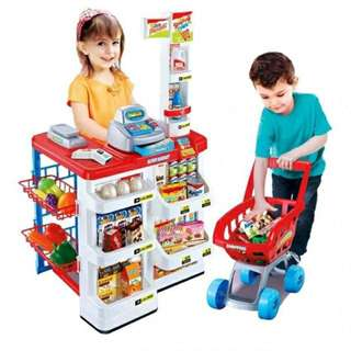 32pcs Play Supermarket Home Toy Set
