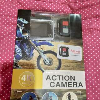 4K Wifi Action Camera 18MP