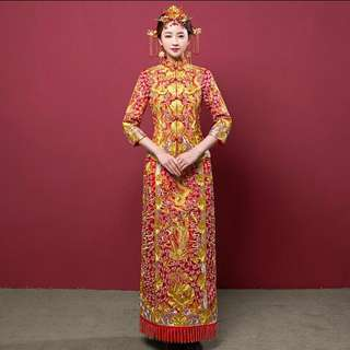 Traditional Wedding Cheongsam